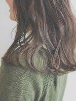 ケーオーエス(KOS beauty hair, nail & eyelash)無造作×カールセミディ