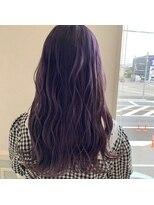 ヘアーサロン リアン 熊谷2号店(hair salon Rien)バイオレットカラー