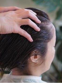 ヘアモード ララルー(Hair mode RaRaLu)の写真/美しい髪は健やかな頭皮から!普段のシャンプーではなかなかケアしきれない部分まで徹底ケアします♪