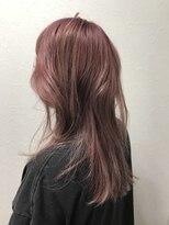 ポッシュ 原宿店(HAIR&MAKE POSH)ピンクハイトーン パステルピンク