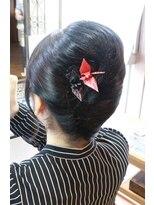 ルフュージュ(hair atelier le refuge)アップ