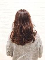 ティルヘアー(TiLL HAIR)【TiLL HAIR】レッドブラウン 透明感 小顔