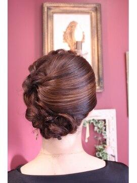 結婚式の髪型(ヘアアレンジ)   お呼ばれスタイル