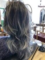 ヘアーサロン リアン 鴻巣店(hair salon Rien)スノウグレージュ×グラデーション♪