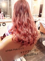 #ケアブリーチ×2回以上 #ピンクグラデ Jewel&Barbie中央★