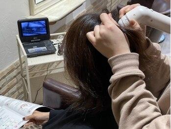 ヘアーアンドメイク リン(Hair&Make Rin)の写真/「諦めていた…」髪・お肌・頭皮のお悩み解決!スコープを用いたカウンセリングで悩みの原因を徹底分析◎