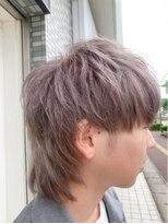 クラシコ ヘアー(CLASSICO hair)ハイトーングレージュ×マッシュウルフ