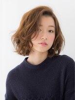 ボヌール 西梅田店(Bonheur)【女性stylist杉崎】コクーンボブ