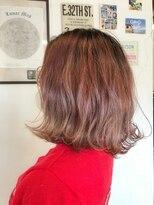 ルーナ ヘアラウンジ(Luuna hair lounge)グラデーションピンク