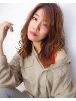ヘアリゾート リアン(hair resort Lien)ミディアムラフウェーブ ☆Lien☆ 倉田