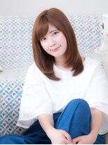 オーブ ヘアー フィオーレ 京都桂店(AUBE HAIR fiore)☆斜めバングストレート☆