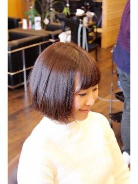 ヘアーメイク ダンス(hair make DANCE)人気☆ゆるふわボブ☆