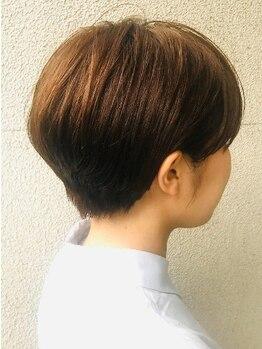 オイル(oiL)の写真/【府内☆髪質改善】キレイに染めるだけではなく、エイジングケアにこだわり抜いたヘアカラーMenuが人気!