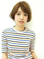 マイア 横浜駅店(hair saloon maia)【maia】可愛いって言われること間違いない!柔カワショート☆