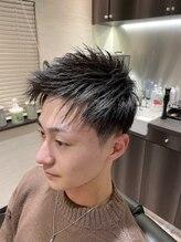 バーバークロス(barber cross)ツーブロックstyle