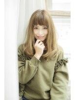 ソフトヘアカッターズ(soft HAIR CUTTERS)【soft HAIRCUTTERS】【マチコ】重めバングの外国人風ロング