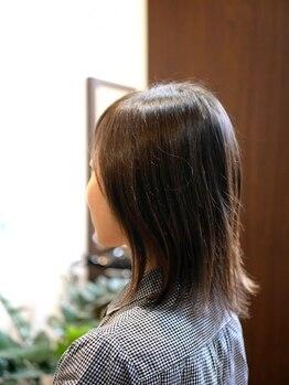 ヘアー クリエイション(Hair Creation)の写真/【うるツヤ美髪に!】年齢と共に一人一人異なる悩みを、解決してくれる提案力が◎ダメージやクセ毛改善も*