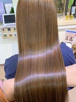 サウス モンド(SOUTH MOND)の写真/髪質改善は知識/技術/経験で差が出ます◎既製品ではなく一人ひとりの美髪育成に必要な成分を原液から調合★
