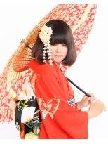 卒業式の卒業式HAIR☆きものにベストマッチ☆ 画像