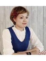 ヘアリゾート ブーケ(hair+resort bouquet)キュートな前髪アレンジ