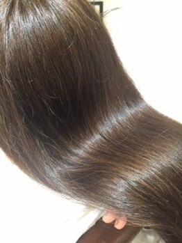 ラグジュアリーサロン ウィッシュ(Luxury Salon Wish)の写真/乾燥・紫外線ケア、大丈夫ですか?定期的なサロンケアをしている髪は違う!健やかな髪で自信♪[調布/国領]