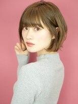 ベックヘアサロン 広尾店(BEKKU hair salon)可愛さアップなひし形シルエットのエアリーショート☆