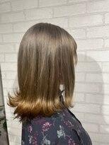 ビス ヘア アンド ビューティー 西新井店(Vis Hair&Beauty)ナチュラル/裾カラー/グラデーション/外ハネ/ボブ/大人かわいい