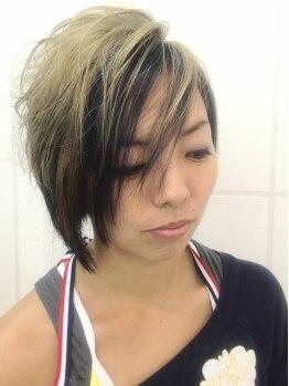 ヘアー リッジ 江古田店(hair Ridge)の写真/トレンドをおさえた旬カラーをお得×ダメージレスにて☆発色と持続力の高さで理想通りのカラーへ♪