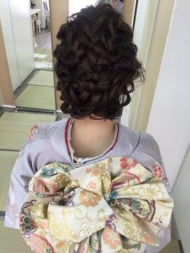 ブライダル ヘアメイク メリア(Bridal Hair Make MERIA)編み込みヘアアレンジ 成人式 結婚式