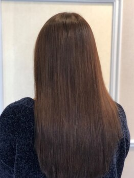 リベルテ(Liberte)の写真/≪カット+カラー+TR初回¥7290≫髪に優しいこだわりのカラー剤使用♪肌が弱い方もご相談下さい♪