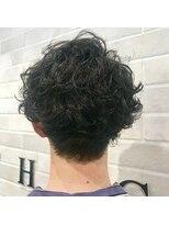 ラシック(LACHIC)くせ毛を活用☆ふわふわマッシュパーマ