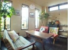 ヴィヴ(Vive)の雰囲気(まるでカフェのように寛げる待合スペースでゆったりしたひと時を)