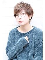 オーシャン ヘアアンドライフ(OCEAN Hair&Life)[OCEAN Hair&Life]オリーブカラー☆くびれショート☆