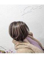 白髪染めハイライト【ベージュ】