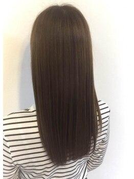 ヘアーズケアーダブルの写真/【熊取駅1分】思わず見惚れるウル艶感!髪の状態に合わせて厳選する人気のAujuaトリートメントで自慢の髪に