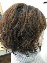 ヘアー チクタク(Hair Ciku-taku)レイヤーボブ×パーマ
