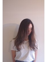 サイヘアーデザイン(Sai hair design)バレイヤージュカラー