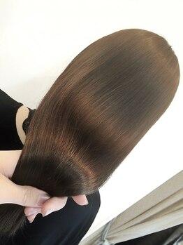 ルモ ヘアー 泉佐野店(Lumo hair)の写真/流行の色味もオーガニックカラーでダメージ最小限に!天然由来のオイル配合だからツヤ感UP♪