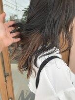 マイ ヘア デザイン(MY hair design)さり気ないチラ見えカラー