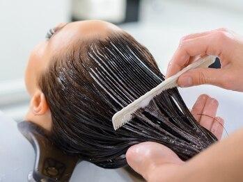 """サティラヘアー(Satila hair)の写真/あなただけのオーダーメイドケア!""""パーソナルトリートメントPLUS""""でダメージ知らずの優秀ヘアに♪"""
