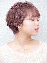 七ッ星+マニッシュショートボブスタイル