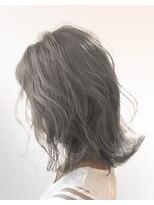 オーブ ヘアー ニコラ 大橋店(AUBE HAIR nicola)【AUBE HAIR】グレージュレイヤー_セミディ