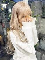 ジーナ オモテサンドウ(XENA)☆ZOC にっちやん☆ブロンドカラー