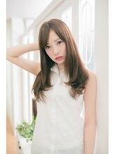 ルーガヘアー 清水入江岡駅前店(LUGA HAIR)【LUGA HAIR】ベージュカラー×ロング