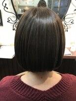 髪質改善ヘアエステ アリュール(allure)首元すっきり!ナチュラルボブ【新宿 髪質改善専門店 allure】