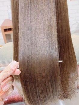 ブロッサム 大塚店(Blossom)の写真/【髪質改善エステ「ハナサカス」で自分史上最高のツヤ髪に】
