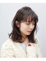 エイム ヘアメイク 横川店(eim HAIR MAKE)eim で叶える♪ふんわり柔らか☆愛されセミロング