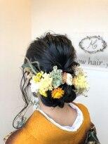 成人式華やか可愛いヘアアレンジ♪