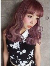 ロープヘアー 岐阜(ROPE hair)≪しおり指名≫ くすみカラー ピンクカラーハイトーンカラー