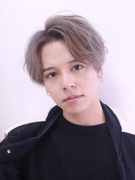 アルバム シンジュク(ALBUM SHINJUKU)ウェットスパイラルマッシュショートレイヤーかき上げヘア_26491